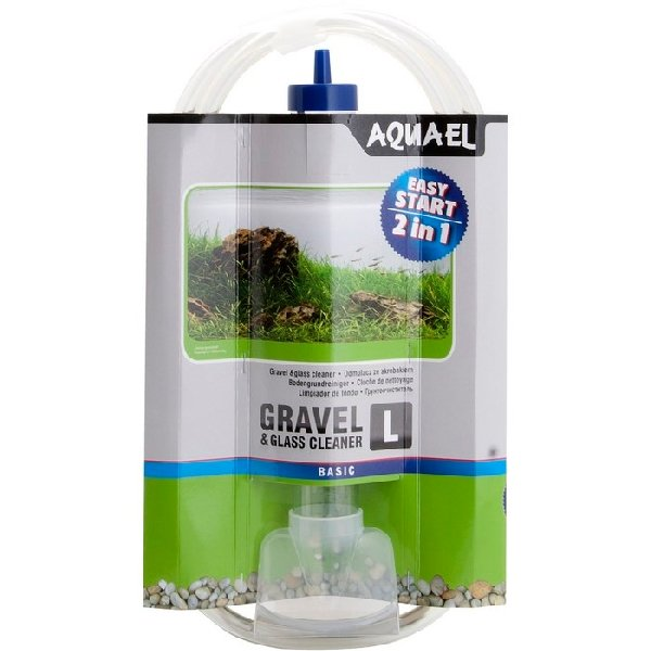 Aquael gravel cleaner l odkalovac zvon for Aspirarifiuti sera gravel cleaner